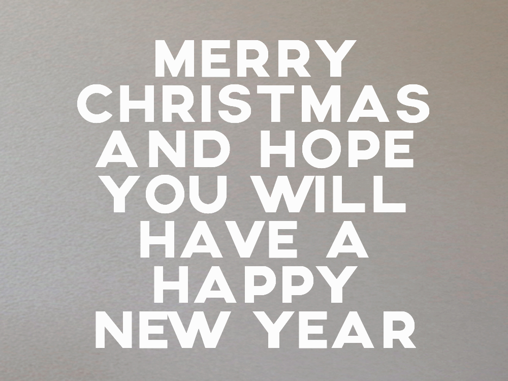 Merry christmas 2014.
